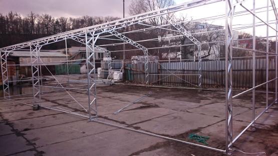 Montovaná hala - konstrukce