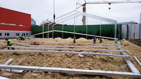 Sportovní hala - konstrukce