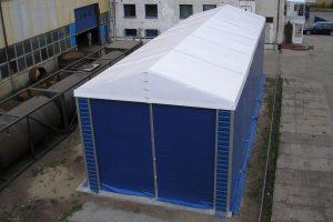 Montovaná hala: nový sklad přímo v prostorách stávajícího podniku