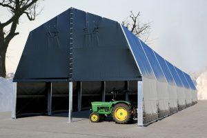 Montovaná hala - sklad zemědělské družstva